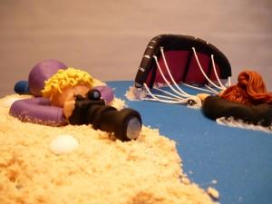 kitesurf taart