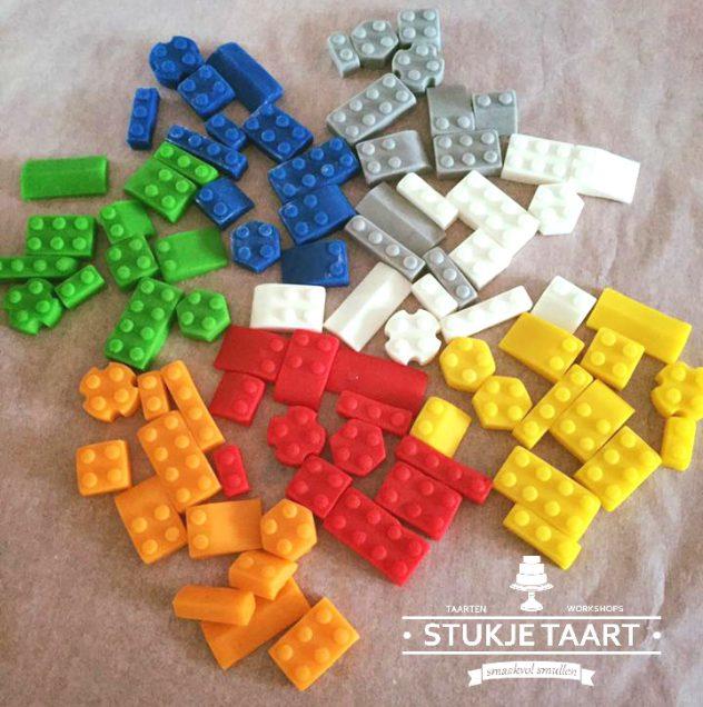 lego blokjes van marsepein