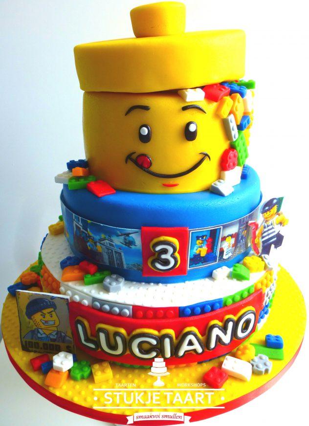 187 Lego Taart