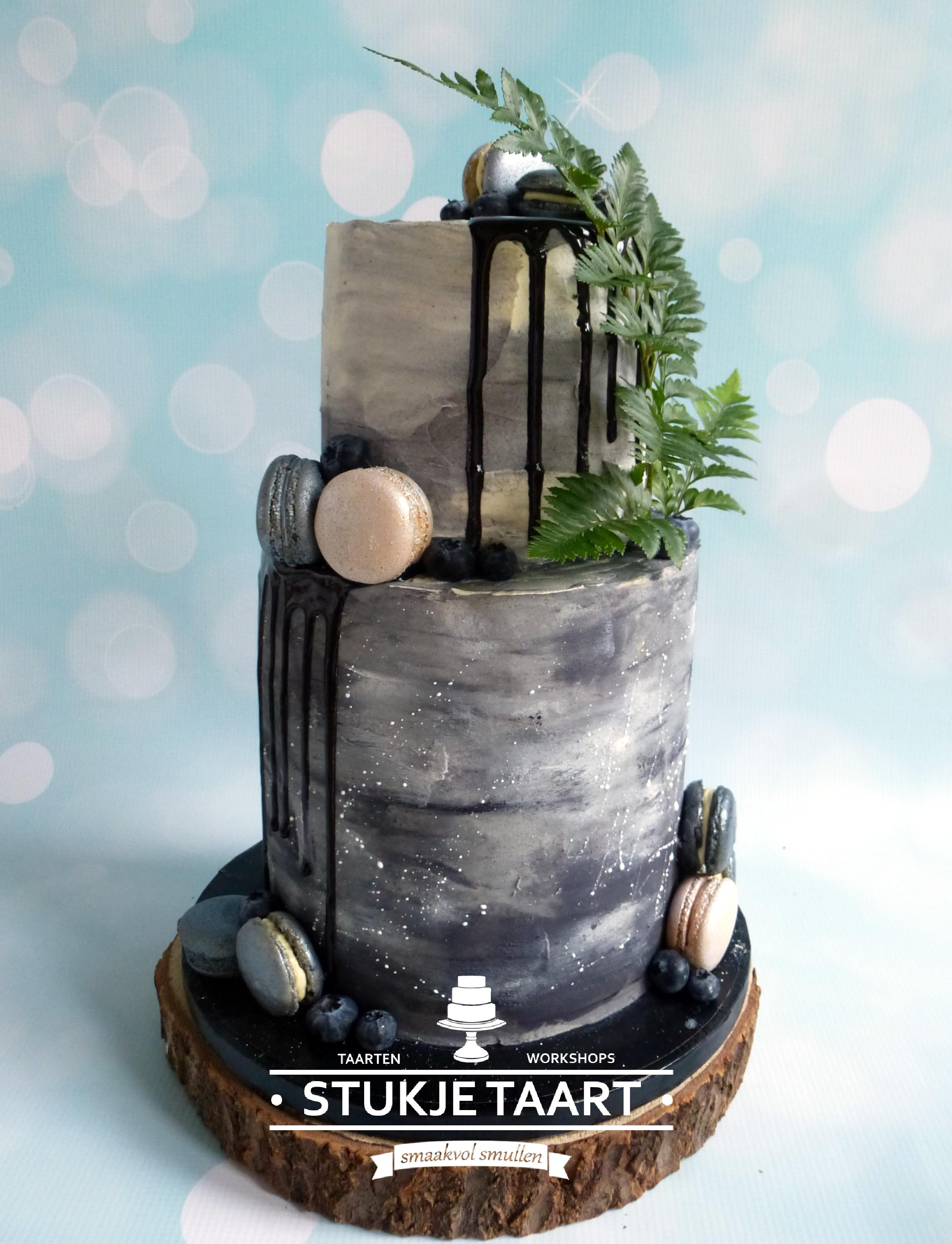 50 tinten grijs trouwtaart