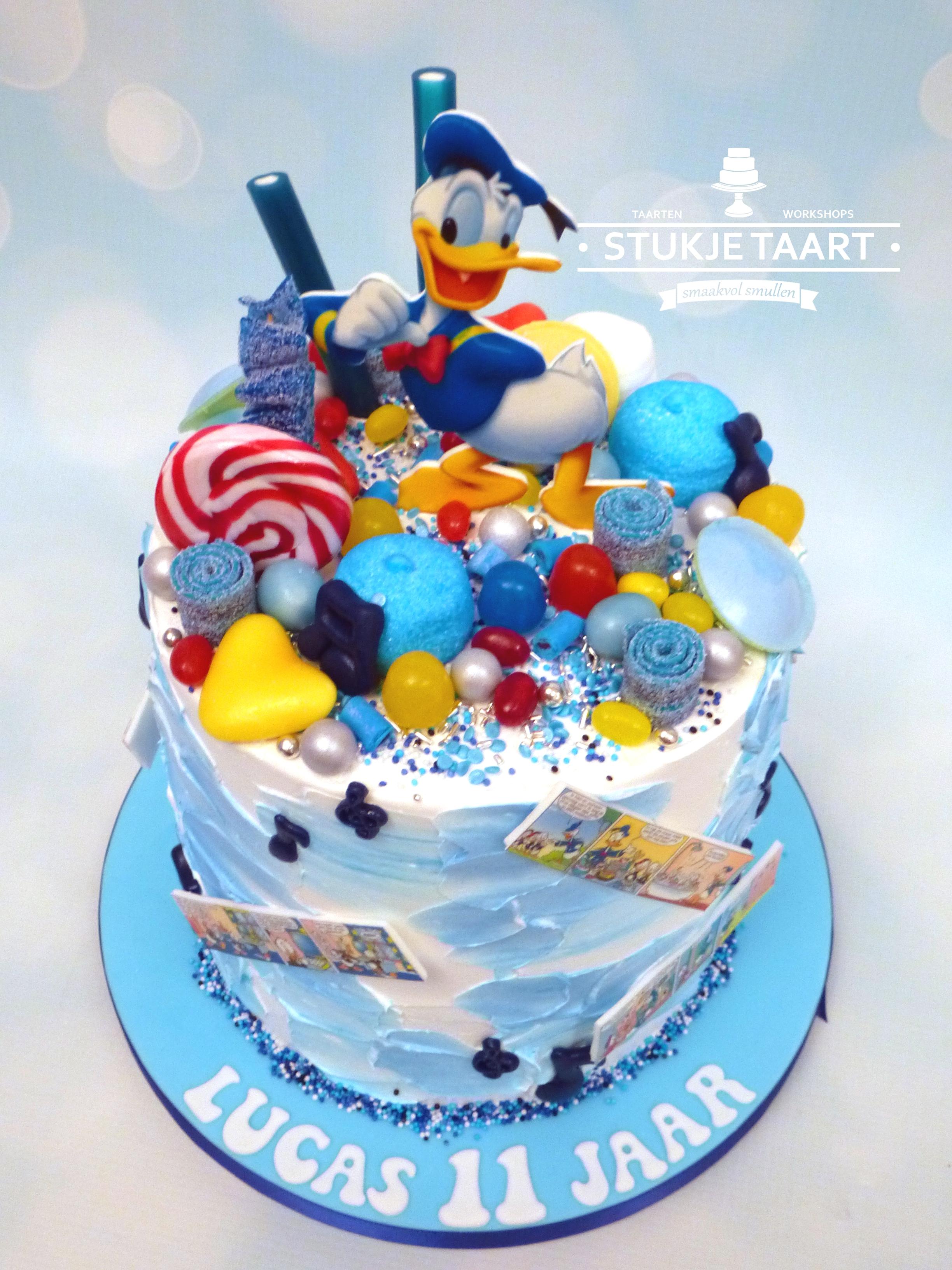 Donald Duck snoeptaart