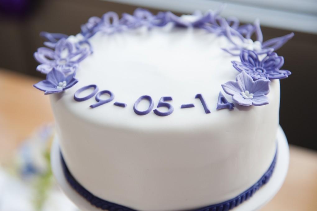 Aansnijd taart Bruiloft